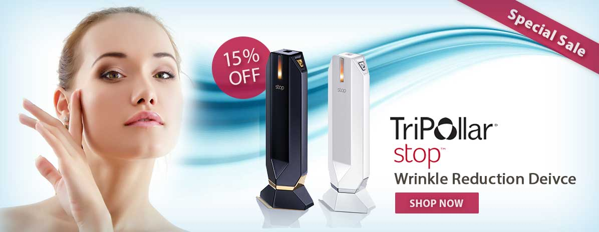 Tripollar Stop Anti Aging Device Banner